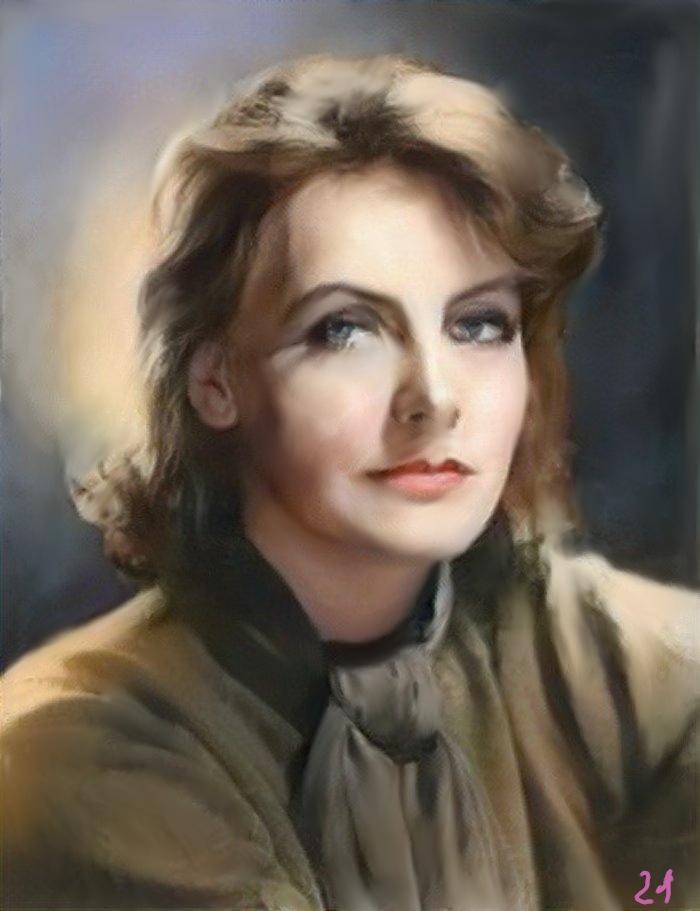 Greta Garbo par baudet